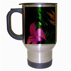 Tropical Adventure Travel Mug (silver Gray)