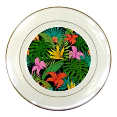 Tropical Adventure Porcelain Plates