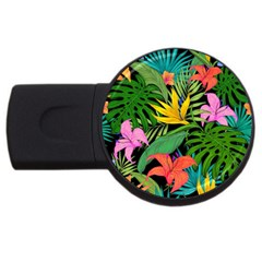 Tropical Adventure Usb Flash Drive Round (4 Gb)