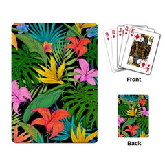 Tropical Adventure Playing Cards Single Design