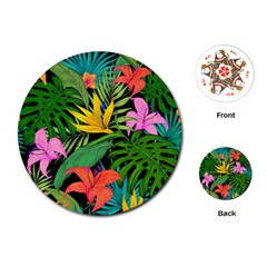 Tropical Adventure Playing Cards (round)