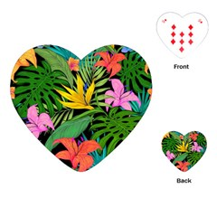 Tropical Adventure Playing Cards (heart)