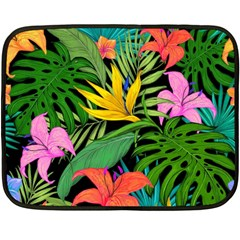 Tropical Adventure Fleece Blanket (mini)