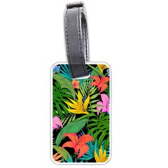 Tropical Adventure Luggage Tags (one Side)