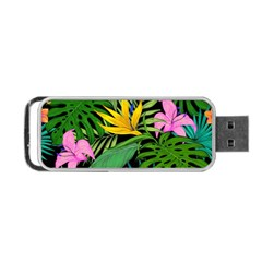 Tropical Adventure Portable Usb Flash (one Side)