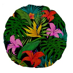 Tropical Adventure Large 18  Premium Round Cushions
