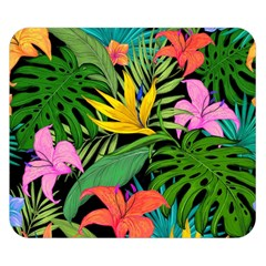 Tropical Adventure Double Sided Flano Blanket (small)