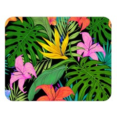 Tropical Adventure Double Sided Flano Blanket (large)