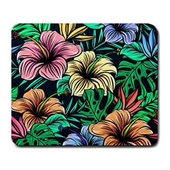 Hibiscus Dream Large Mousepads