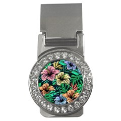 Hibiscus Dream Money Clips (cz)