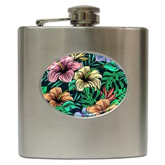 Hibiscus Dream Hip Flask (6 Oz)