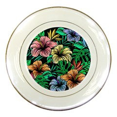 Hibiscus Dream Porcelain Plates