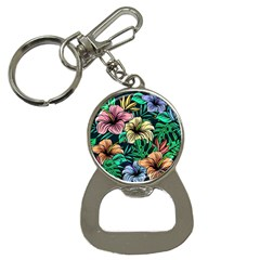 Hibiscus Dream Bottle Opener Key Chains