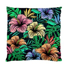 Hibiscus Dream Standard Cushion Case (one Side)