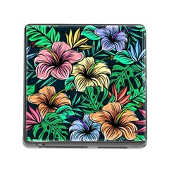 Hibiscus Dream Memory Card Reader (square 5 Slot)