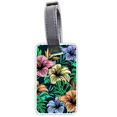 Hibiscus Dream Luggage Tags (one Side)