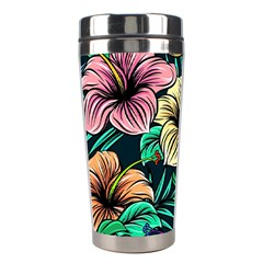Hibiscus Dream Stainless Steel Travel Tumblers