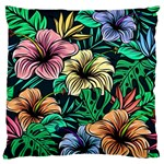 Hibiscus Dream Standard Flano Cushion Case (One Side) Front