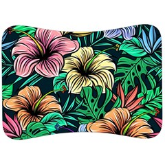 Hibiscus Dream Velour Seat Head Rest Cushion