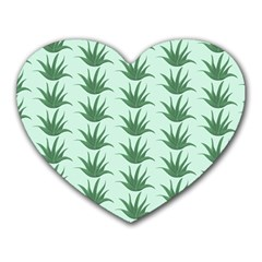 Aloe-ve You, Very Much  Heart Mousepads by WensdaiAmbrose