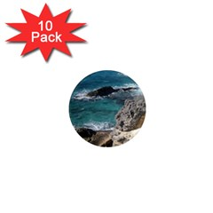 Isla Mujeres Mexico 1  Mini Magnet (10 Pack)  by StarvingArtisan