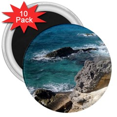 Isla Mujeres Mexico 3  Magnets (10 Pack)  by StarvingArtisan