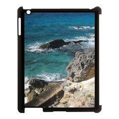 Isla Mujeres Mexico Apple Ipad 3/4 Case (black) by StarvingArtisan