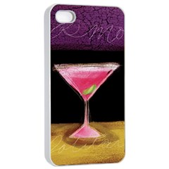 Cosmo Cocktails Apple Iphone 4/4s Seamless Case (white) by StarvingArtisan