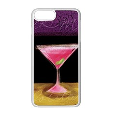 Cosmo Cocktails Apple Iphone 8 Plus Seamless Case (white)
