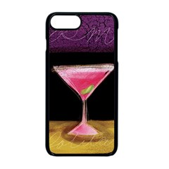 Cosmo Cocktails Apple Iphone 8 Plus Seamless Case (black)