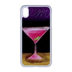 Cosmo Cocktails Apple Iphone Xr Seamless Case (white)