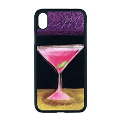 Cosmo Cocktails Apple Iphone Xr Seamless Case (black)