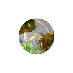 Koi Fish Pond Golf Ball Marker (4 Pack)