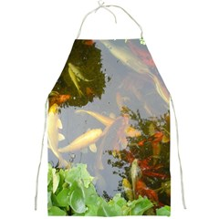 Koi Fish Pond Full Print Aprons