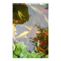 Koi Fish Pond Shower Curtain 48  X 72  (small)