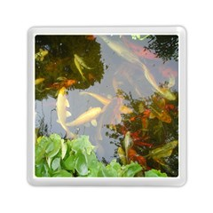 Koi Fish Pond Memory Card Reader (square)