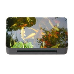 Koi Fish Pond Memory Card Reader With Cf