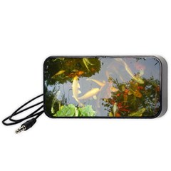Koi Fish Pond Portable Speaker