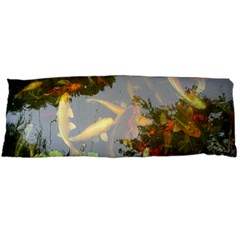 Koi Fish Pond Body Pillow Case (dakimakura)