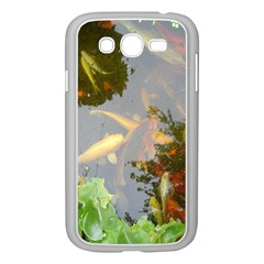 Koi Fish Pond Samsung Galaxy Grand Duos I9082 Case (white)
