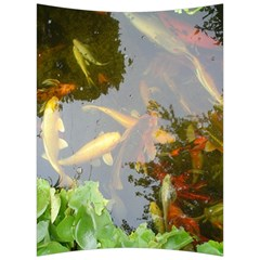 Koi Fish Pond Back Support Cushion