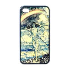 Vintage   To See The Sea Apple Iphone 4 Case (black) by WensdaiAddamns