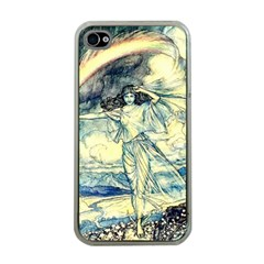 Vintage   To See The Sea Apple Iphone 4 Case (clear) by WensdaiAddamns