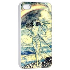 Vintage   To See The Sea Apple Iphone 4/4s Seamless Case (white) by WensdaiAddamns