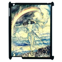 Vintage   To See The Sea Apple Ipad 2 Case (black) by WensdaiAddamns