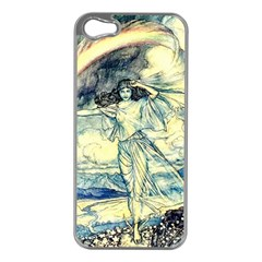 Vintage   To See The Sea Apple Iphone 5 Case (silver) by WensdaiAddamns