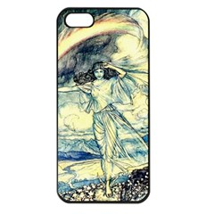 Vintage   To See The Sea Apple Iphone 5 Seamless Case (black) by WensdaiAddamns