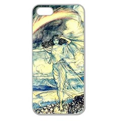 Vintage   To See The Sea Apple Seamless Iphone 5 Case (clear) by WensdaiAddamns
