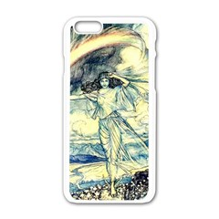 Vintage   To See The Sea Apple Iphone 6/6s White Enamel Case by WensdaiAddamns