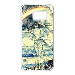 Vintage   To See The Sea Samsung Galaxy S7 White Seamless Case by WensdaiAddamns